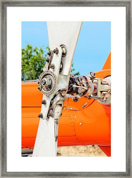 Tail Rotor Framed Print