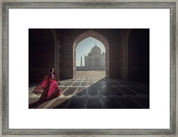 Tajmahal Framed Print