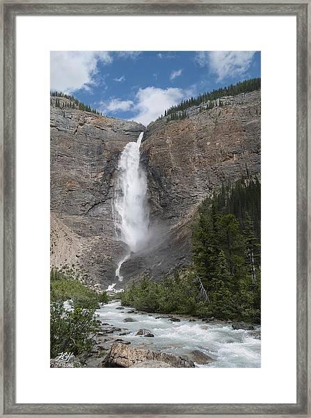 Takakkaw Falls Framed Print