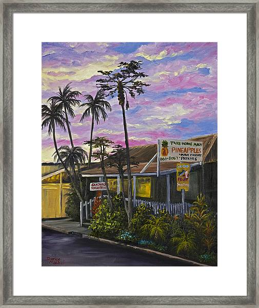Take Home Maui Framed Print