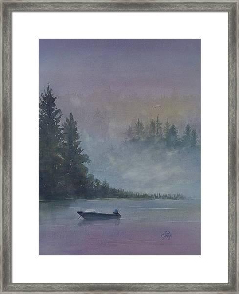 Take Me Fishing Framed Print