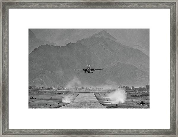 Take Off Framed Print