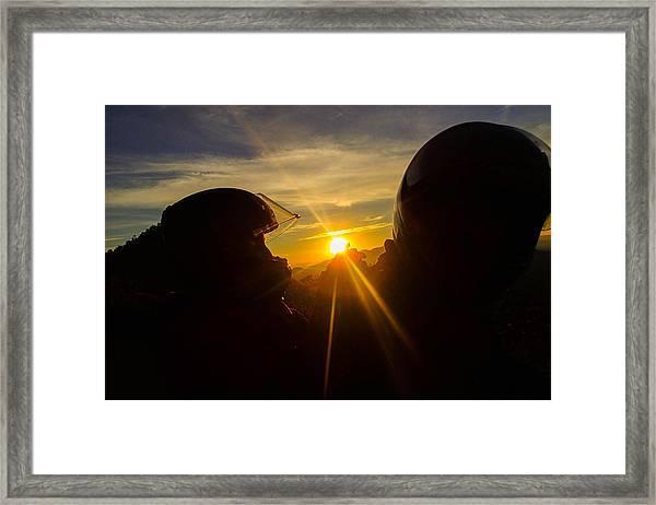 Take The Light Framed Print