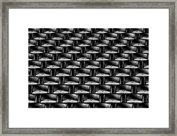 Take Your Seats Please! Framed Print