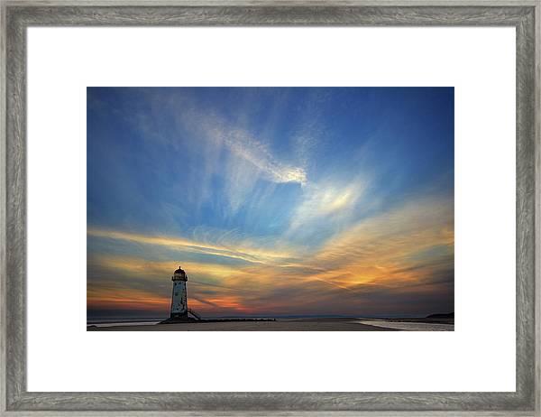 Talacre Beach Framed Print
