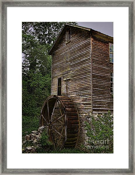 Tall Mill Framed Print