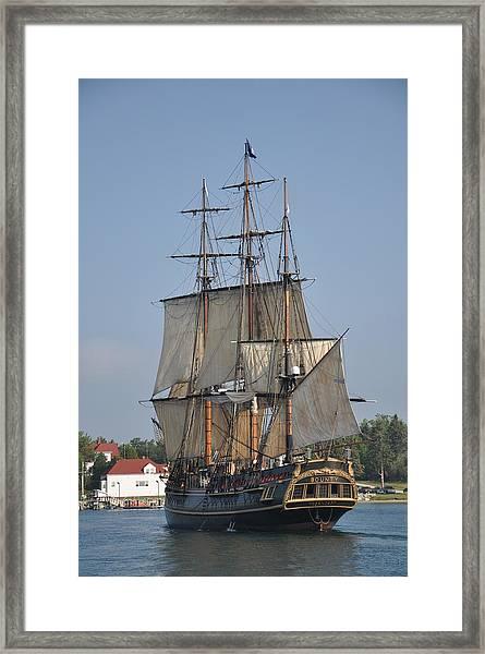 Tall Ship 1 Framed Print