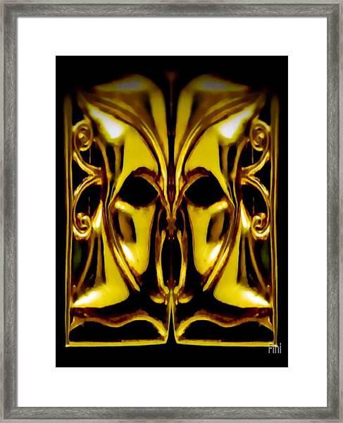 Tallscream Framed Print