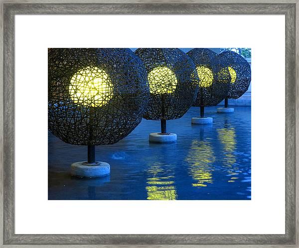 Tamarindo Reflections Framed Print