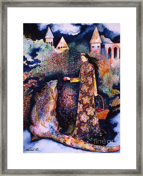 Taming Of The Dragon Framed Print