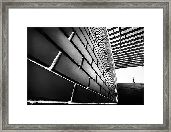 Tangles Framed Print