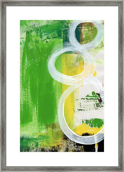 Tango- Abstract Painting Framed Print