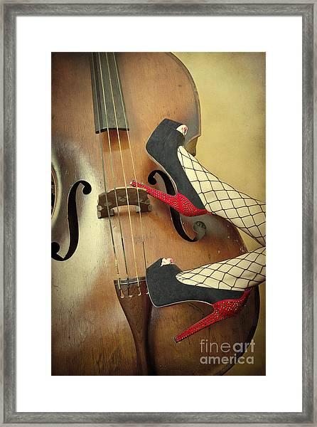 Tango For Strings Framed Print