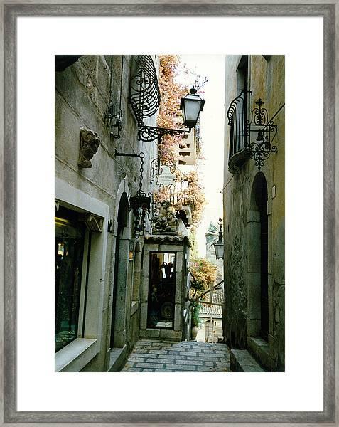 Taormina Sicily Framed Print