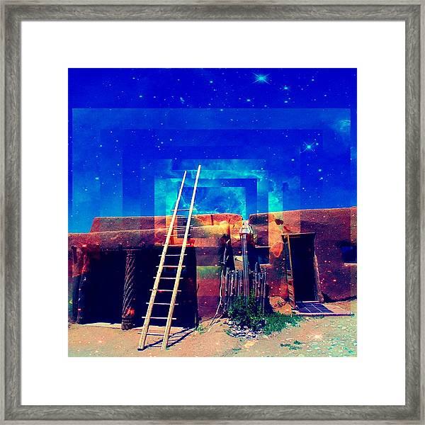 Taos Dreams Come True Framed Print