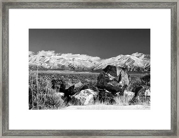 Taos Mountains Framed Print