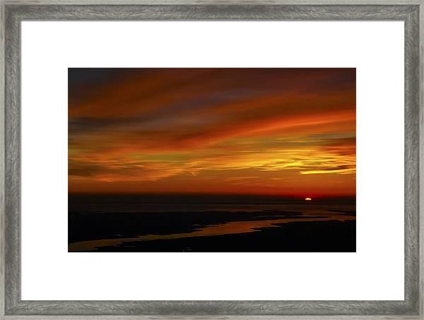 Rappahannock Sunrise II Framed Print
