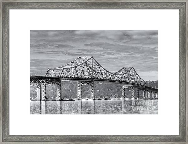 Tappan Zee Bridge Iv Framed Print