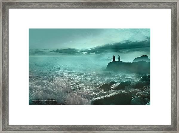 Tarde De Pesca Framed Print