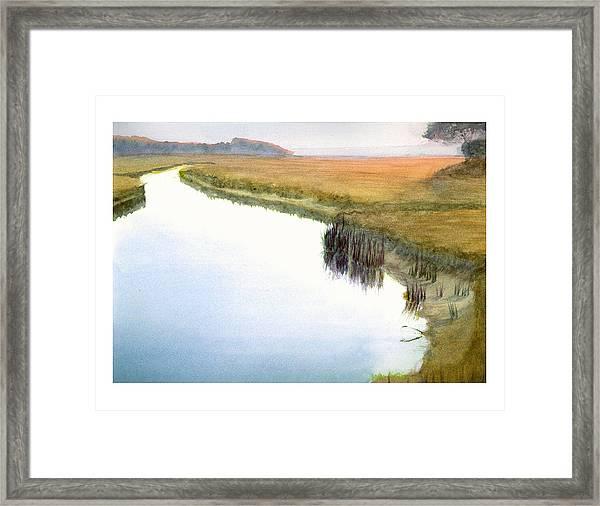 Tarpon Creek Framed Print