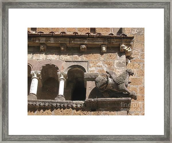 Tarquinia Framed Print