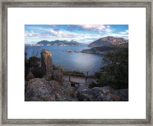 Tasmania The Beautiful State Framed Print