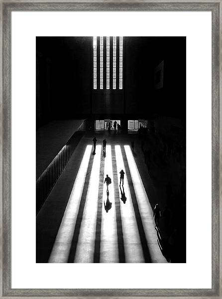 Tate Framed Print by