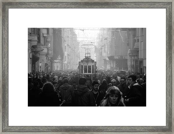 Taxim Street Framed Print by Dr. Akira Takaue