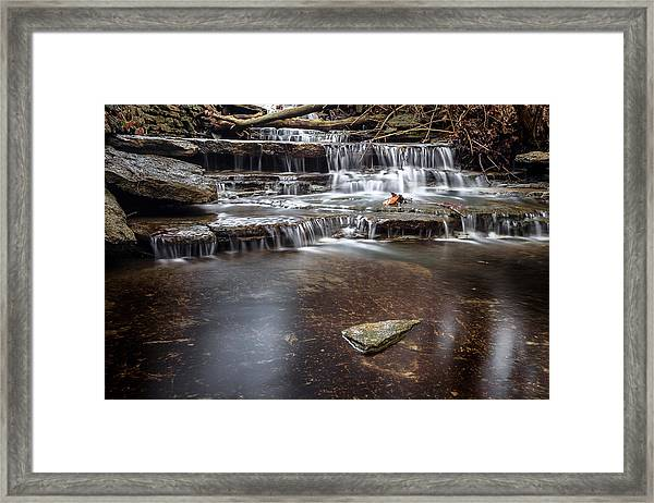 Taylor Creek Falls Framed Print