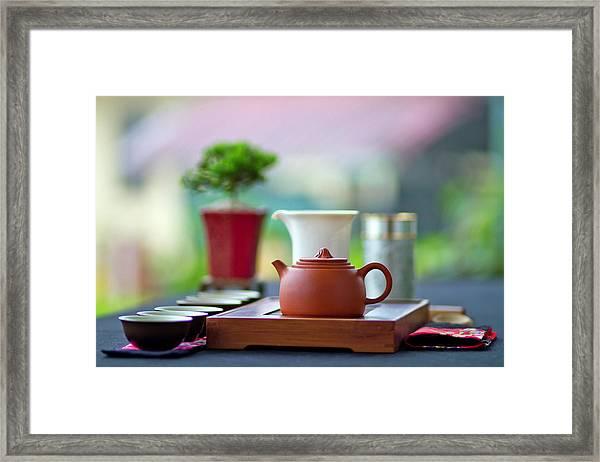 Tea Appreciation Framed Print