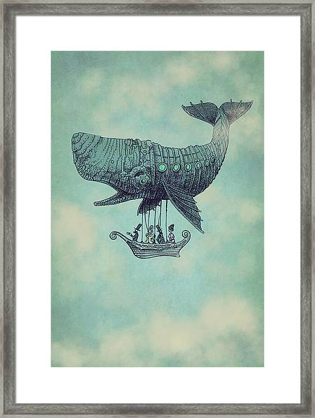 Tea At Two Thousand Feet Framed Print