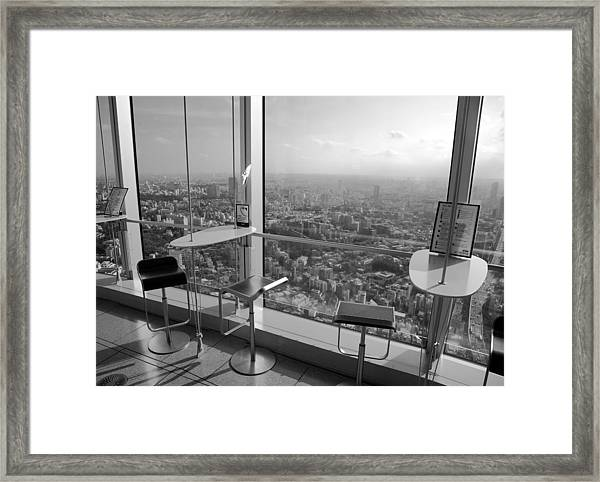Tea With A View Framed Print