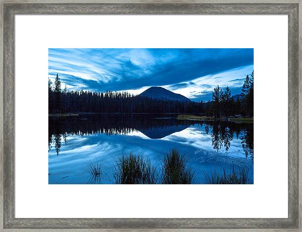 Teapot Lake Framed Print by Darryl Wilkinson