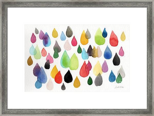 Tears Of An Artist Framed Print