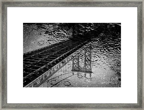 Tears Of New York Framed Print