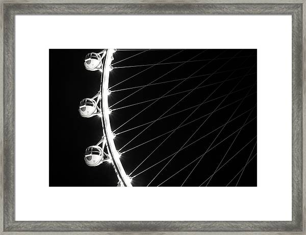 Tears On My Cheek Framed Print