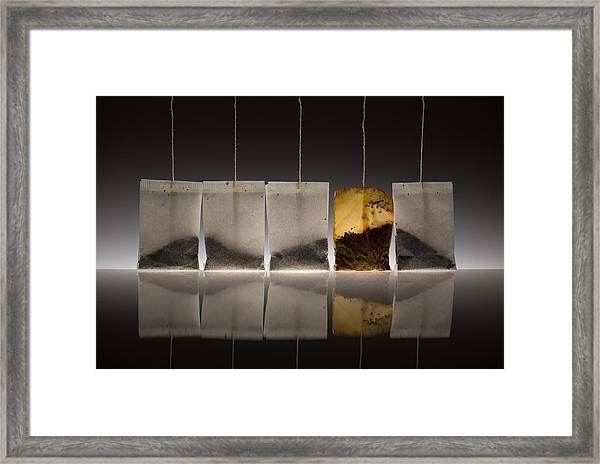 Teascape Framed Print by Wieteke De Kogel