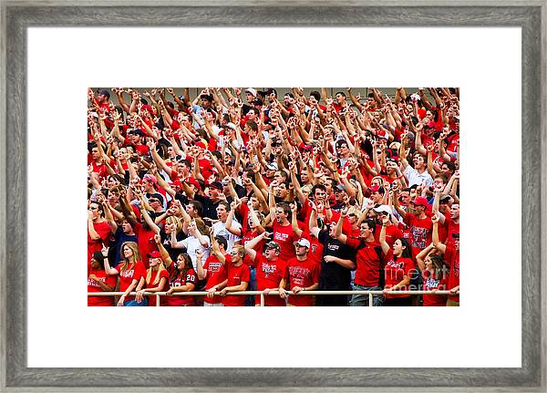Framed Print featuring the photograph Tech Fans by Mae Wertz
