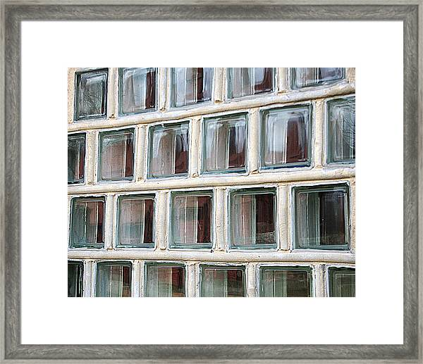 Framed Print featuring the photograph Technocratic Windows by William Selander