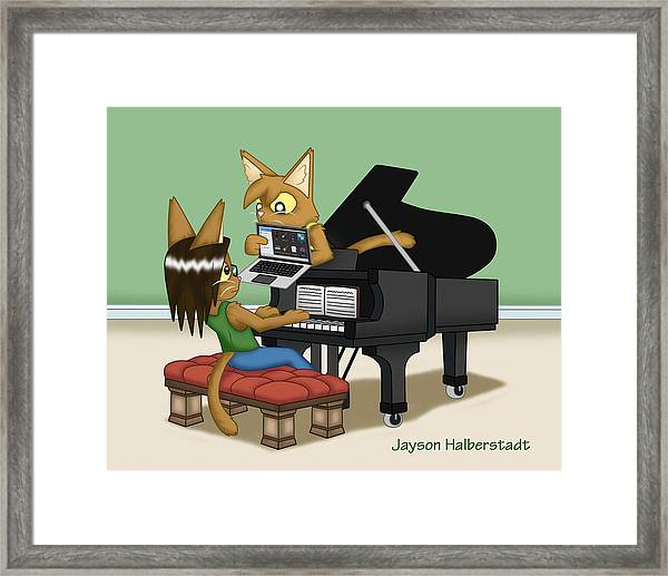Musical Differences Framed Print