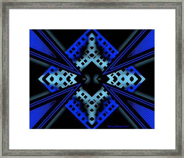 Technology Growth Framed Print