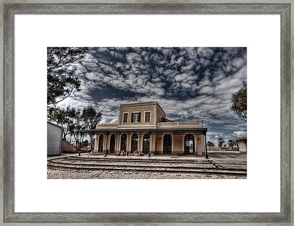 Tel Aviv First Railway Station Framed Print