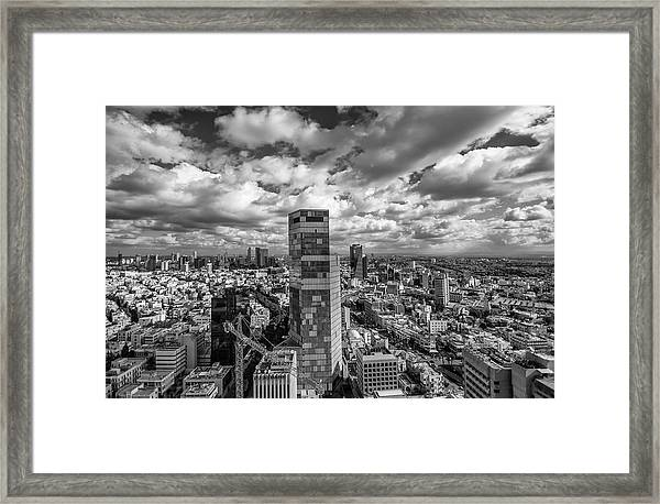 Tel Aviv High And Above Framed Print