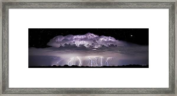 Tempest - Craigbill.com - Open Edition Framed Print