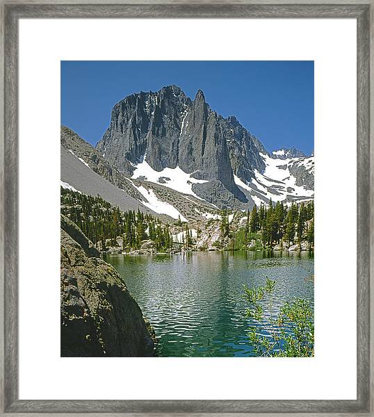 2m6437-temple Crag Framed Print