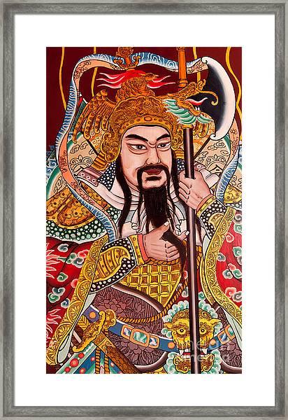 Temple Door 03 Framed Print