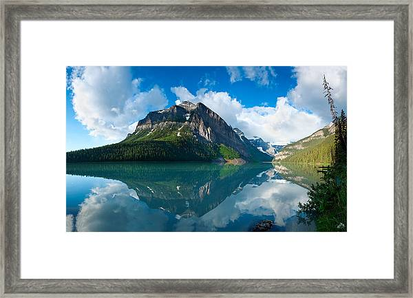 Temple Mountain Framed Print