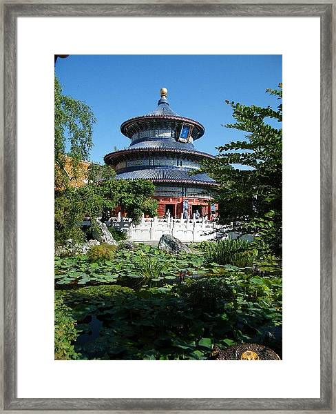 Temple Of Heaven Framed Print