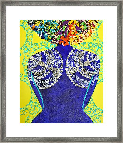 Temple Of The Goddess Eye Vol 3 Framed Print