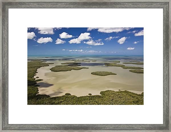 Ten Thousand Islands Framed Print